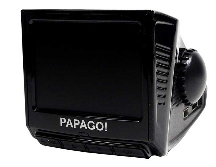 papago p3 with gps dash cam
