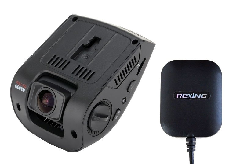 rexing v1 truck dash camera with gps