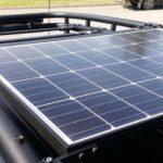 solar panel dash cam